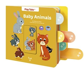 互動繪本Baby Animals (PullTabs Books)