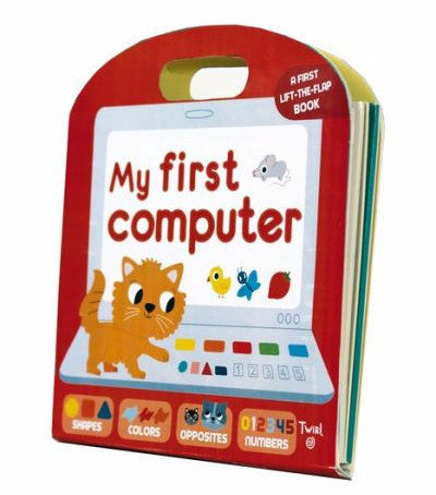 【互動遊戲書】My First Computer, by Anne-Sophie Baumann and Marion Billet