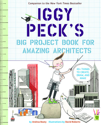 動手玩建築 Iggy Peck's Big Project Book for Amazing Architects
