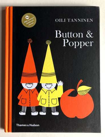 <復刻版繪本> Button & Popper, by Oili Tanninen