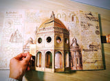 【STEAM立體書】Inventions : Pop-up Models from the Drawings of Leonardo da Vinci
