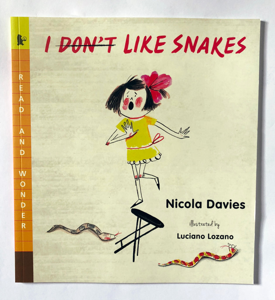 I Don't Like Snakes (Read and Wonder) by Nicola Davies cover