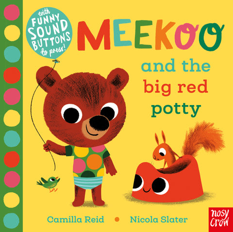 【音效繪本】MEEKOO AND THE BIG RED POTTY