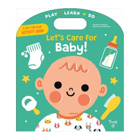 【互動遊戲書】 Let's Care for Baby!