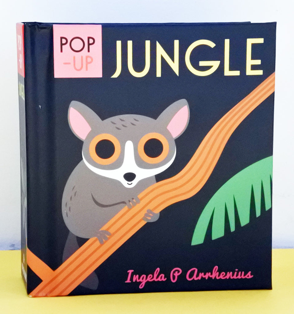 立體書 POP-UP Jungle by Ingela P. Arrhenius