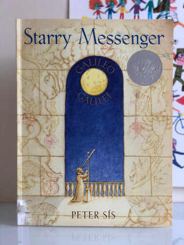 【STEAM繪本】Starry Messenger, by Peter Sis