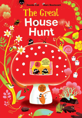 經選繪本 The Great House Hunt by Davide Cali
