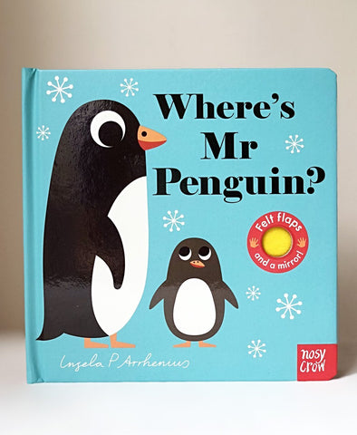 Where's Mr Penguin cover