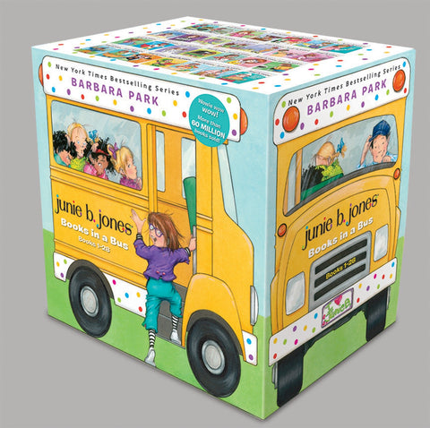 【清倉套書】Junie B. Jones Books in a Bus(共27書)