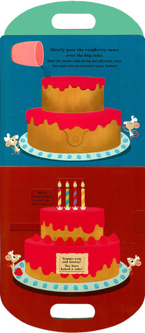 【互動遊戲書】Let's Bake a Cake! by Anne-Sophie Baumann and Hélène Convert