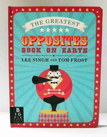 立體書 Opposites Book On Earth