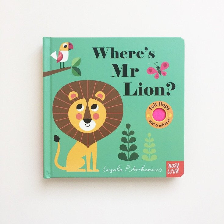 【北歐Retro】 Where's Mr. Lion? by Ingela P. Arrhenius