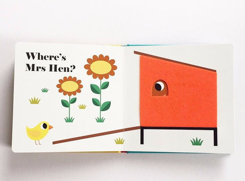 【北歐Retro】 Where's Mrs Hen? by Ingela P. Arrhenius