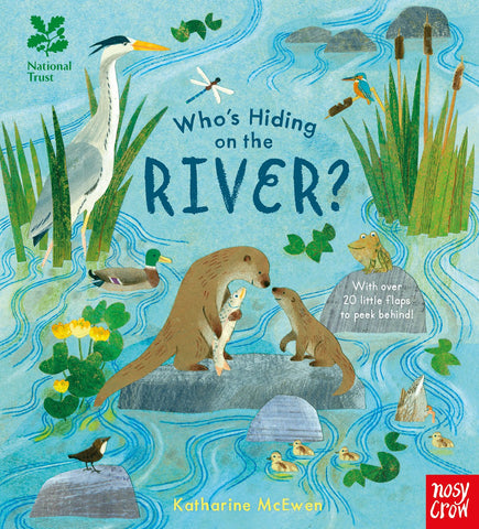【寶寶STEAM】Who's Hiding on the River?