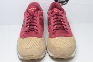 Saucony Jazz Original Premium 'Luxury' Red Sand - Hype Stew Sneakers Detroit