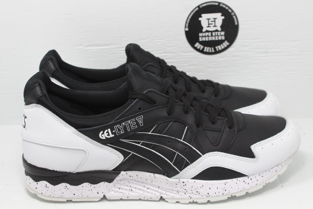 ASICS Gel-Lyte 5 Oreo Pack Black - Hype Stew Sneakers Detroit