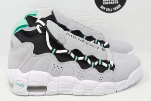 Nike Air More Money Wolf Grey Island Green (GS) - Hype Stew Sneakers Detroit