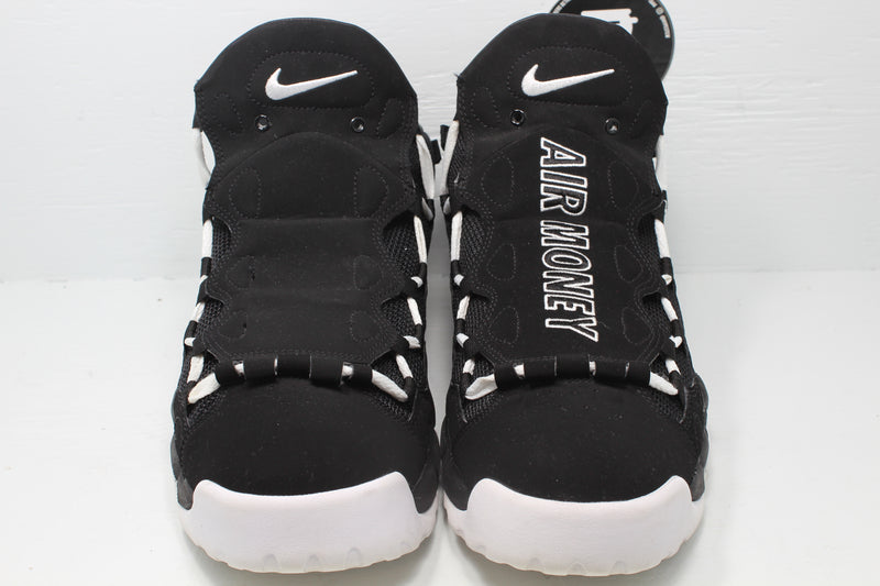 Nike Air More Money Black White - Hype Stew Sneakers Detroit