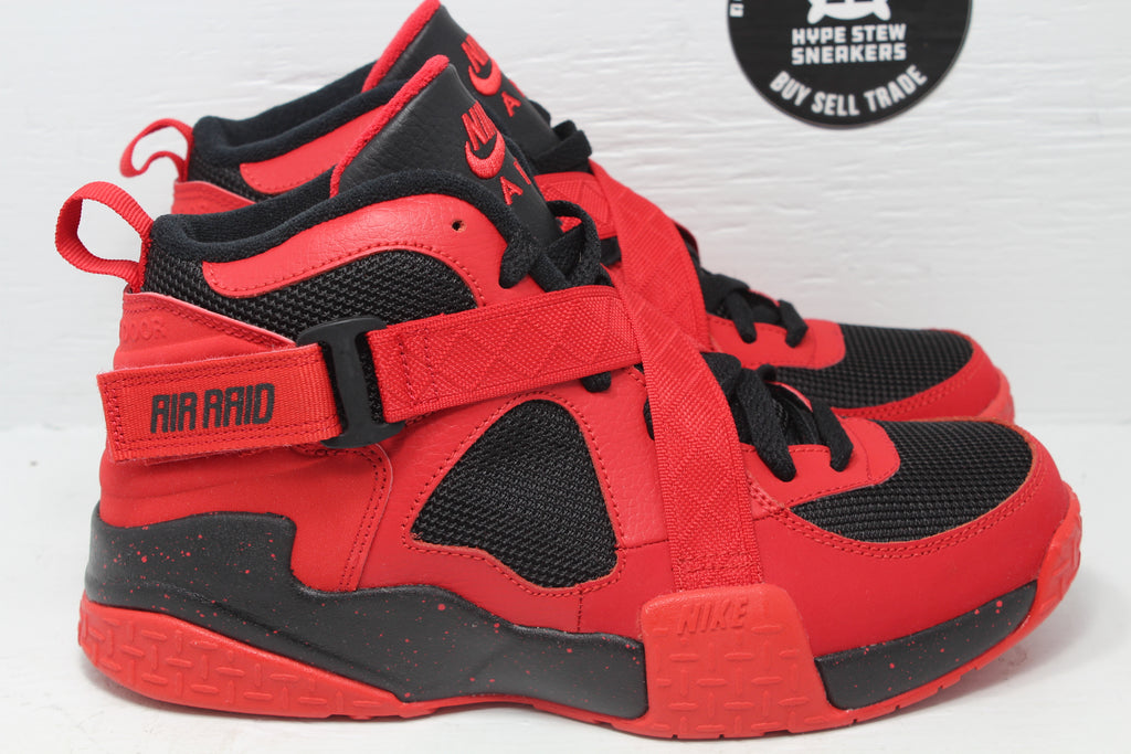 Nike Air Raid University Red Black (GS) - Hype Stew Sneakers Detroit