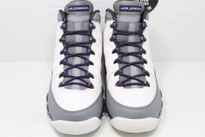 Nike Air Jordan 9 White Purple 'Imperial Purple' GS - Hype Stew Sneakers Detroit