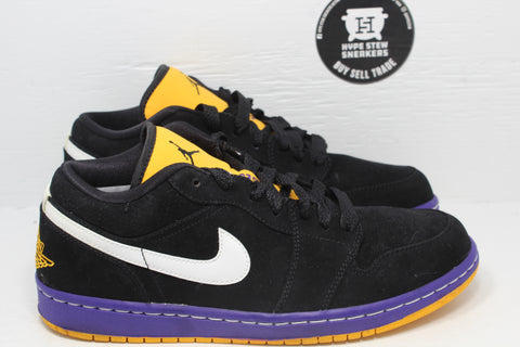 Nike Air Jordan 1 Phat Low Taxi Lakers