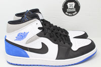Nike Air Jordan 1 Mid SE 'Royal Black Toe' - Hype Stew Sneakers Detroit