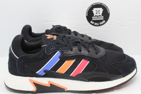 Adidas Tresc Run Core Black Shock Red Easy Orange