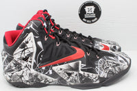 Nike LeBron 11 Graffiti - Hype Stew Sneakers Detroit