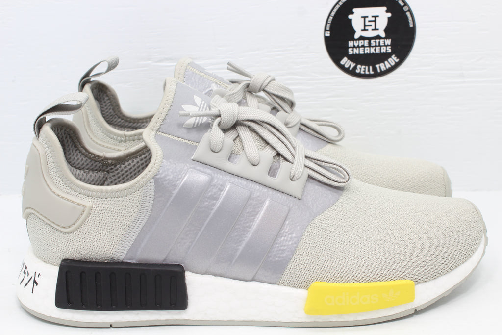 Adidas NMD_R1 Metal Gray - Hype Stew Sneakers Detroit