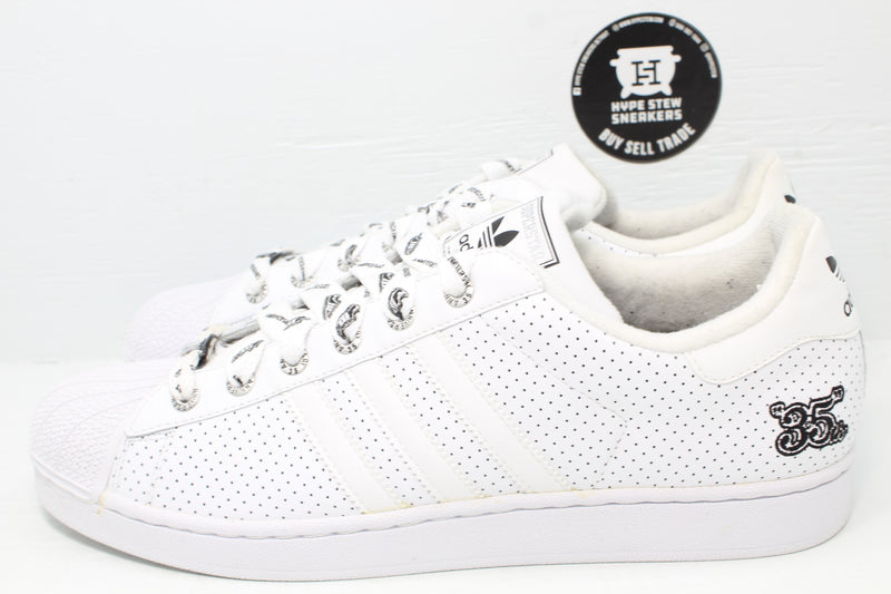 Adidas Superstar 35th Anniversary Perforated - Hype Stew Sneakers Detroit
