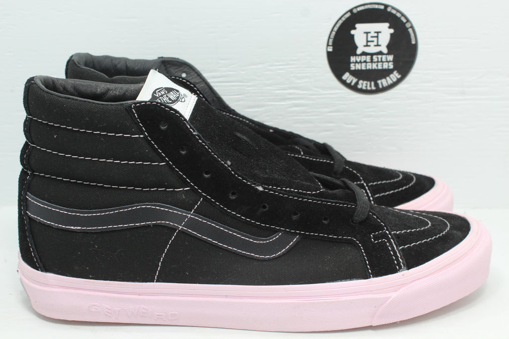 Vans Sk8-Hi Anti Social Social Club Get Weird Black - Hype Stew Sneakers Detroit