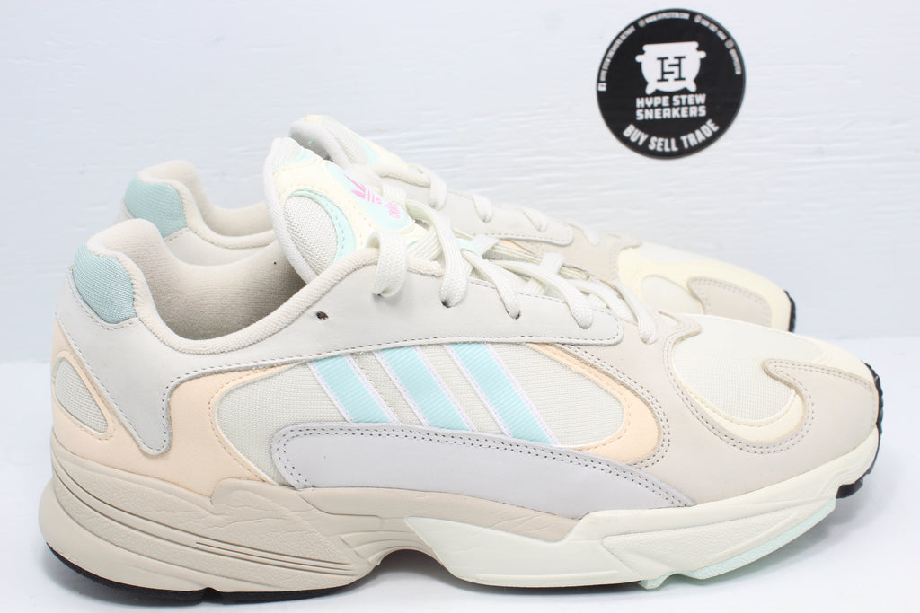 Adidas Yung-1 Off White Ice Mint - Hype Stew Sneakers Detroit