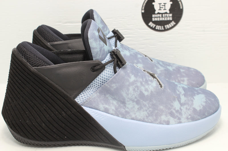 Jordan Why Not Zer0.1 Low Blue Camo Sample - Hype Stew Sneakers Detroit