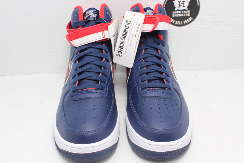 Nike Air Force 1 High Sport NBA Washington Wizards Sample - Hype Stew Sneakers Detroit