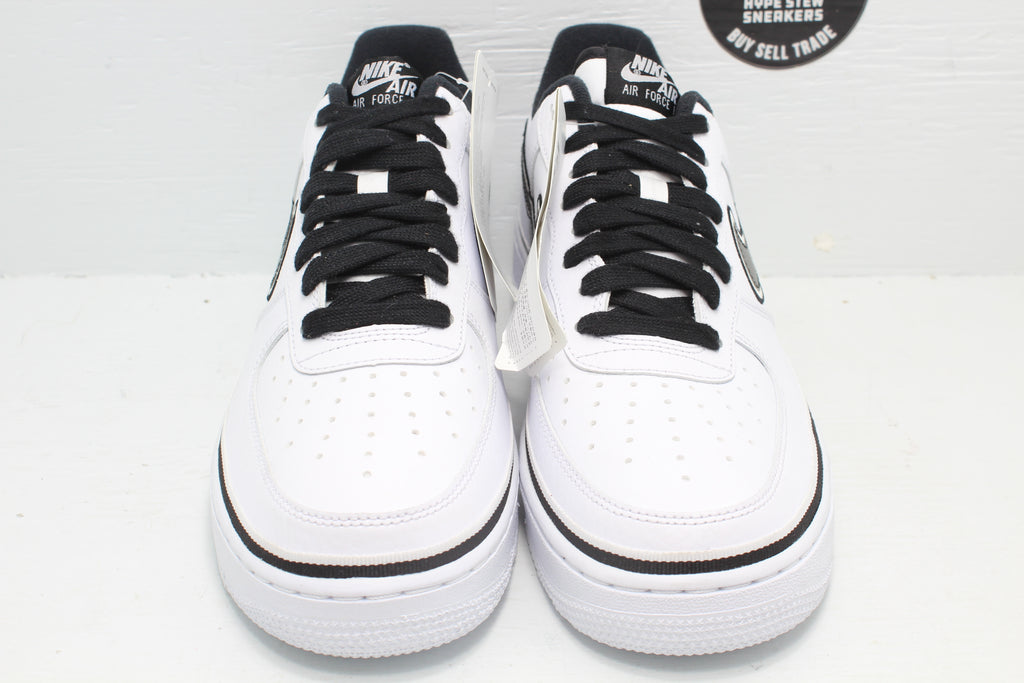 Nike Air Force 1 Low Sport NBA White Black Spurs Sample - Hype Stew Sneakers Detroit