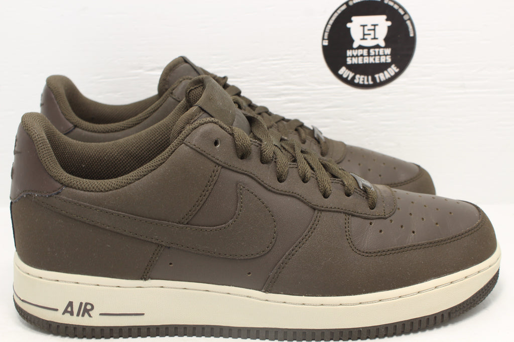 Nike Air Force 1 Low Sable Green - Hype Stew Sneakers Detroit