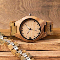 wooden watch Bobo Bird I18 Luminous Wood Watch