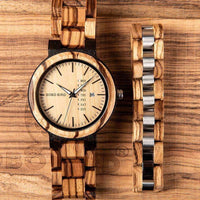 wooden watch Bobo Bird O26 Wood Watch & Bracelet Set