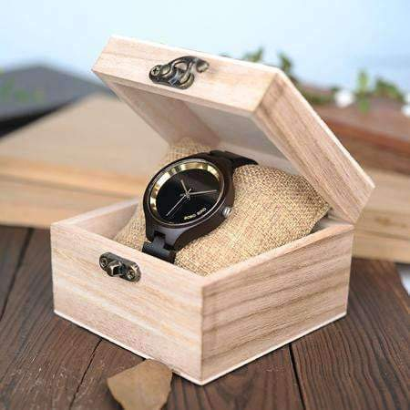wooden watch Bobo Bird P16 Wooden Watch