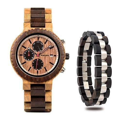 wooden watch Bobo Bird R21 Wood Watch Set