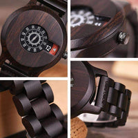 wooden watch Bobo Bird R26 Wood Watch For Men