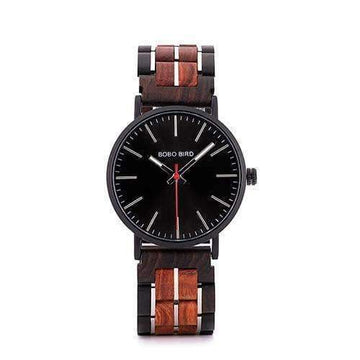 Bobo Bird S19 Wooden & Stainless Steel Watch