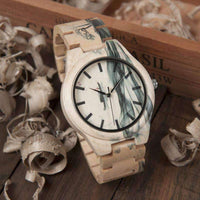 wooden watch Bobo Bird W-017 Wood Watch