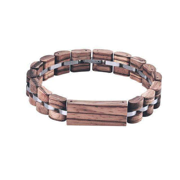 Engraved Wood Bracelet W-S21
