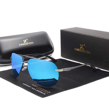 KINGSEVEN Aluminum HD Polarized Aviation Sunglasses N7413