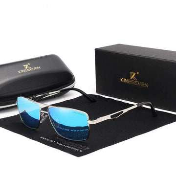 KINGSEVEN Classic Square Plastic Men's Sunglasses N7906
