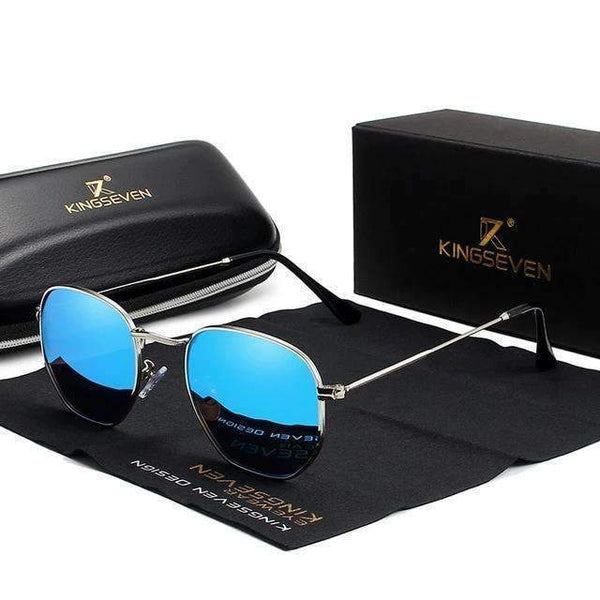 Sunglasses KINGSEVEN Men's Classic Reflective Sunglasses N7548