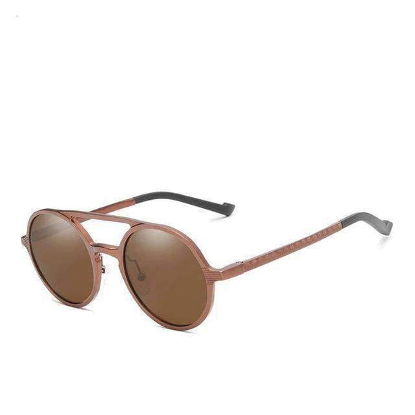 Sunglasses KINGSEVEN N-7576 Aluminum Round Sunglasses