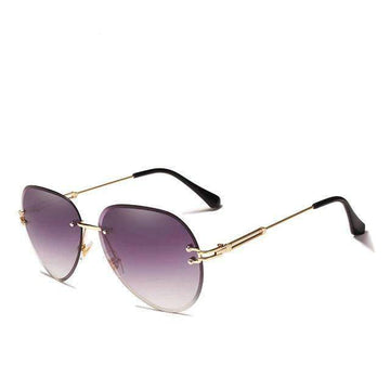 KINGSEVEN Rimless Pilot Sunglasses N802