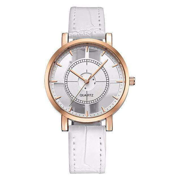 Watches Luxury and Elegant Casual Watch with Leather Strap